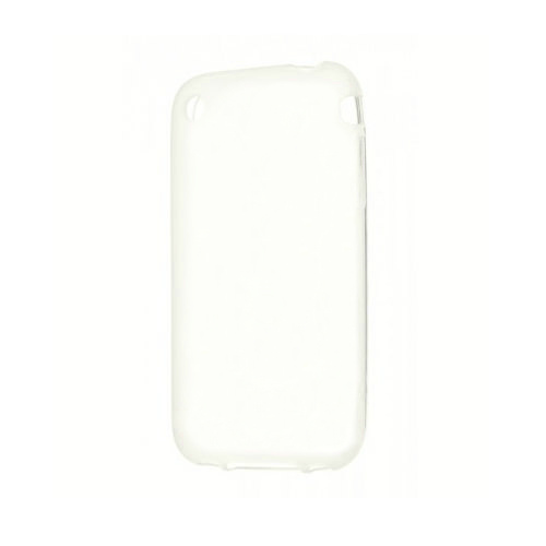 Белый TPU чехол Silicol 0.6mm для iPhone 3G/3GS