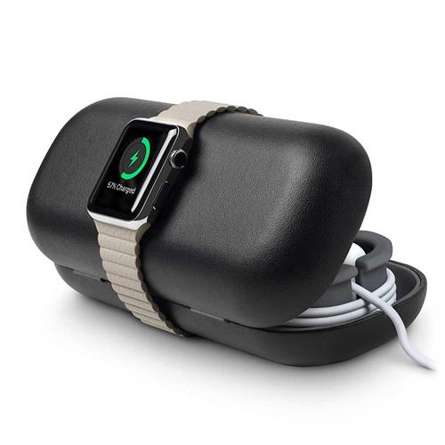 Чехол | док-станция Twelve South TimePorter Black для Apple Watch Series 1 | 2 | 3