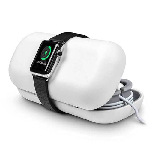Чехол | док-станция Twelve South TimePorter White для Apple Watch Series 1 | 2 | 3