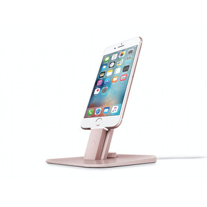 Купить Док-станция Twelve South HiRise Deluxe Rose Gold для iPhone/iPad mini