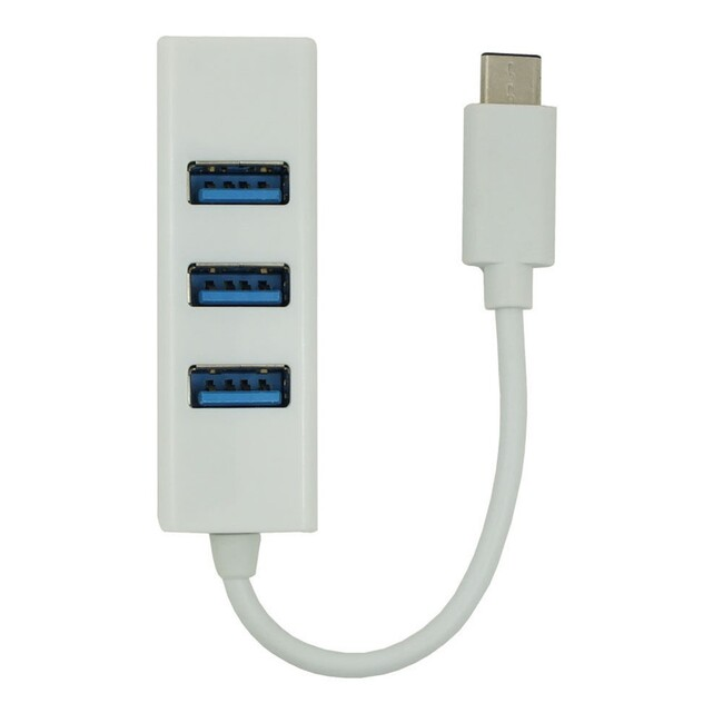 Разветвитель USB 3.1 Type-C Hub на 4 USB порта для Apple MacBook 12""