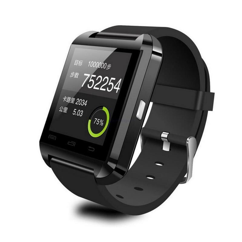 Смарт-часы oneLounge UWatch U8 Черные для iOS/Android
