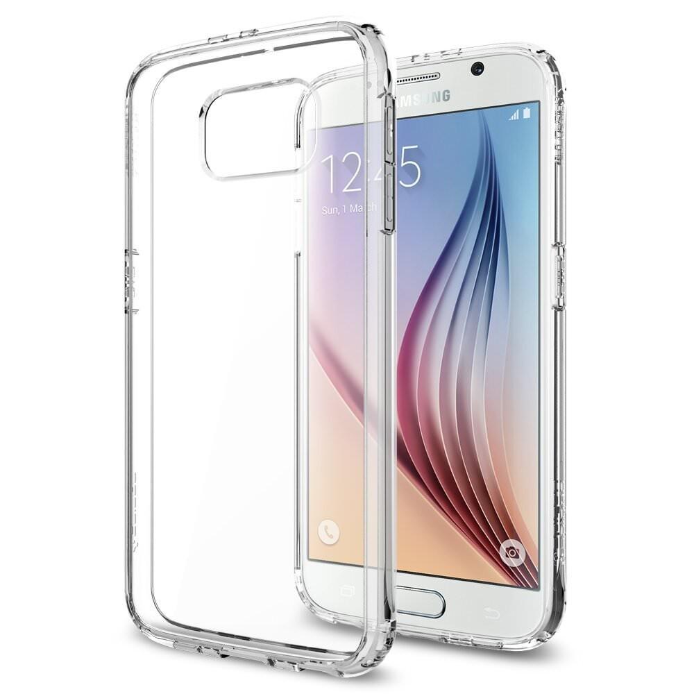 Чехол Spigen Ultra Hybrid Crystal Clear для Samsung Galaxy S6