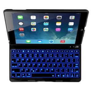 Купить Алюминиевый чехол AddKee Backlit Black с клавиатурой для iPad Air 2
