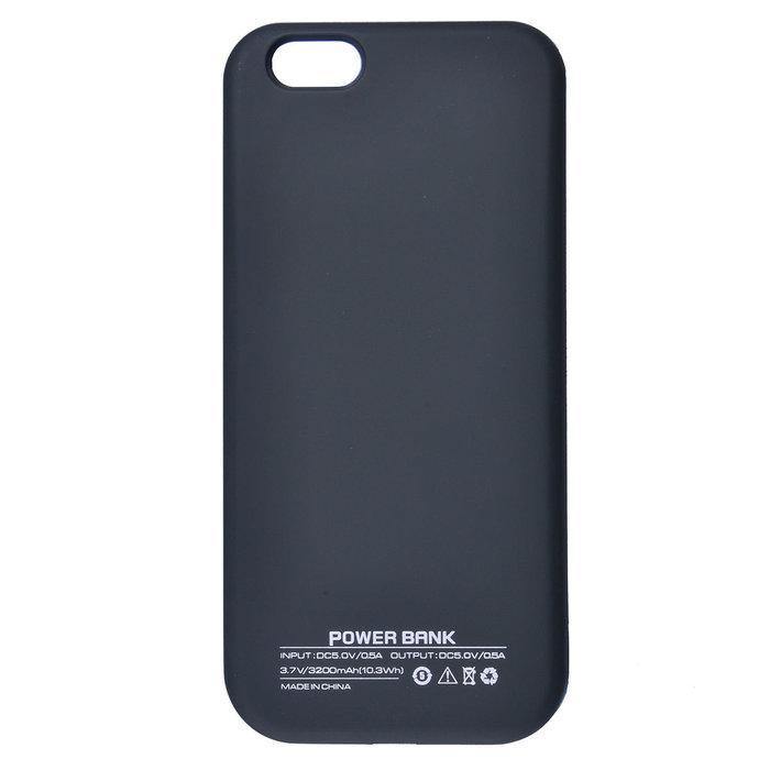 Чехол-аккумулятор UltraSlim Black 3200mAh для iPhone 6/6s