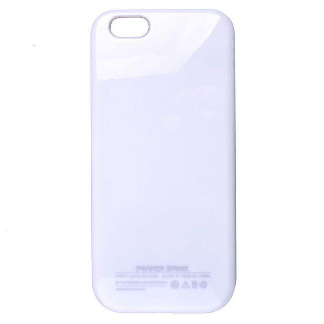 Чехол-аккумулятор UltraSlim White 3200mAh для iPhone 6/6s