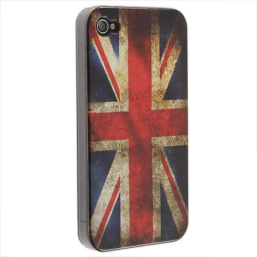 Чехол с флагом Великобритании для iPhone 4/4S