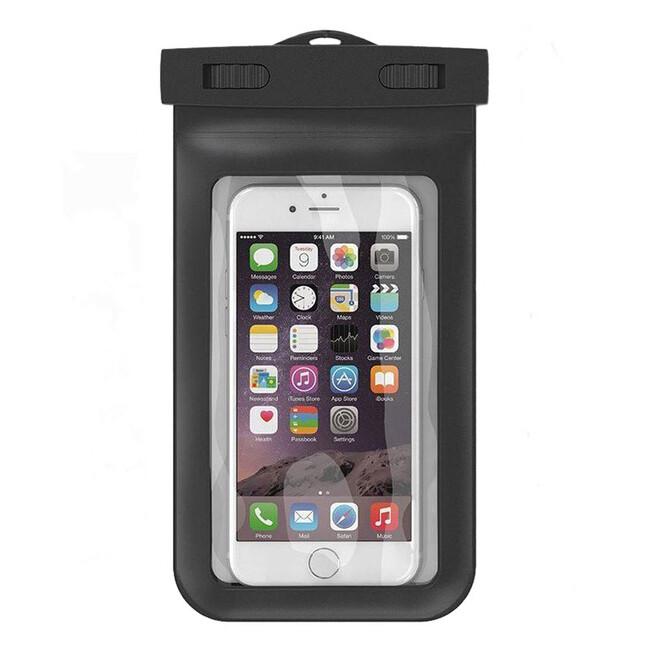 Универсальный водонепроницаемый черный чехол Diving для iPhone/iPod/Mobile