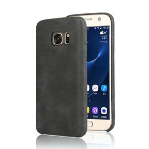 Купить Ультратонкий кожаный чехол USAMS Bob Series Black для Samsung Galaxy S7