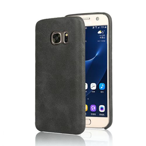 Ультратонкий кожаный чехол USAMS Bob Series Black для Samsung Galaxy S7