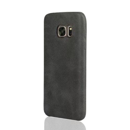 Ультратонкий кожаный чехол USAMS Bob Series Black для Samsung Galaxy S7 edge