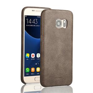 Купить Ультратонкий кожаный чехол USAMS Bob Series Coffee для Samsung Galaxy S7