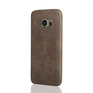 Купить Ультратонкий кожаный чехол USAMS Bob Series Coffee для Samsung Galaxy S7 edge