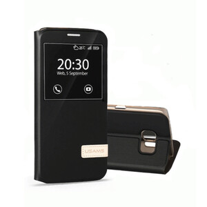 Купить Чехол-подставка USAMS Muge Series Black для Samsung Galaxy S7 edge