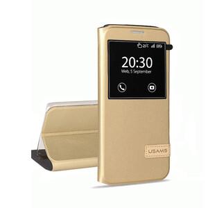 Купить Чехол-подставка USAMS Muge Series Gold для Samsung Galaxy S7 edge