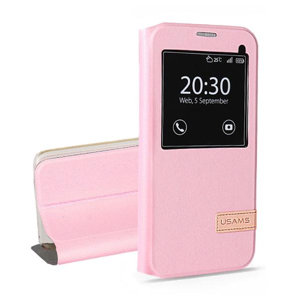 Купить Чехол-подставка USAMS Muge Series Pink для Samsung Galaxy S7