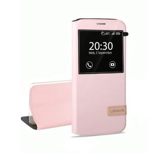Купить Чехол-подставка USAMS Muge Series Pink для Samsung Galaxy S7 edge