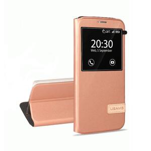 Купить Чехол-подставка USAMS Muge Series Rose Gold для Samsung Galaxy S7 edge