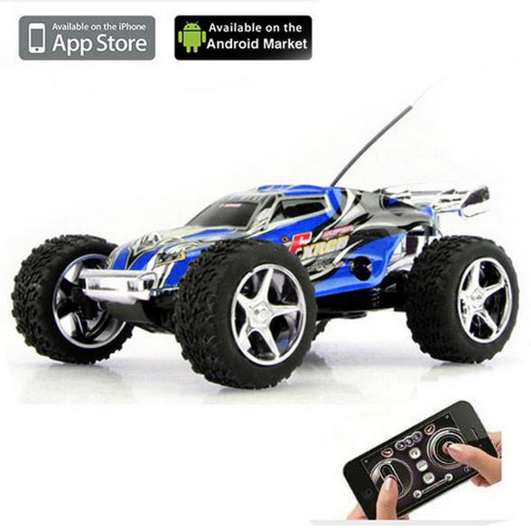 Радиоуправляемая машинка WLToys I-RACING CAR для iOS/Android