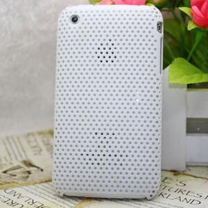 Купить Пластиковый белый чехол Grid для iPhone 3G/3GS