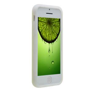 Купить Белый силиконовый чехол для iPhone 5C