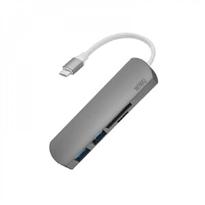 Купить Хаб WiWU T2 4 in 1 USB Type-C
