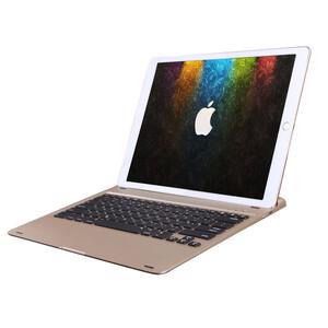 "Алюминиевая клавиатура AddKee Backlit Gold для iPad Pro 12.9"""