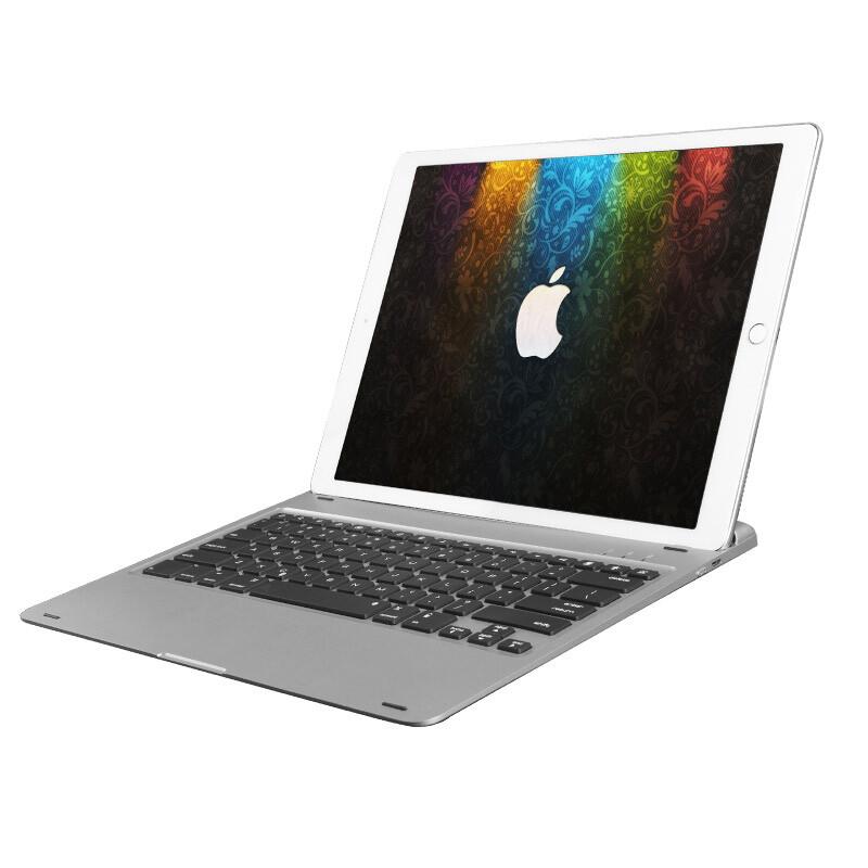 "Алюминиевая клавиатура AddKee Backlit Silver для iPad Pro 12.9"""