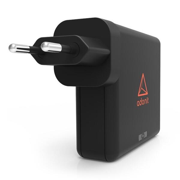 Универсальное зарядное устройство с беспроводной зарядкой Adonit Wireless TravelCube Power Bank 6700mAh