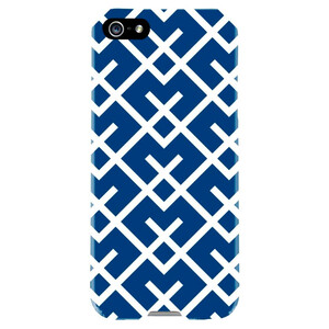 Купить Чехол Agent18 SlimShield Limited Geometric Navy/White для iPhone 5/5S/SE