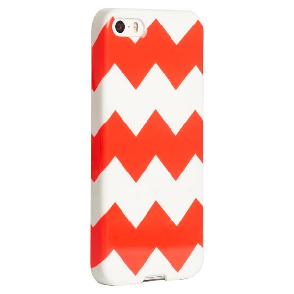 Чехол Agent18 SlimShield Limited Chevron Coral для iPhone 5   5S   SE