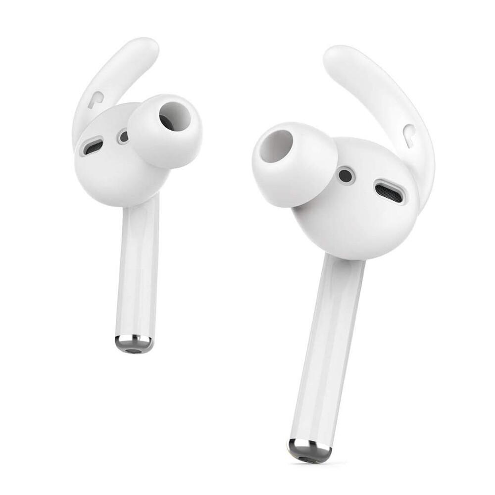 Купить Силиконовые накладки oneLounge AhaStyle Ear Hooks White для AirPods | EarPods