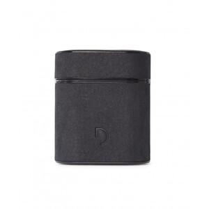 Купить Кожаный чехол с карабином Decoded Aircase Carbon Black для AirPods