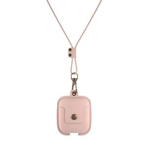 Купить Кожаный чехол Woodcessories Aircase Pink для AirPods 2/1