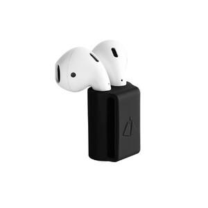 Купить Силиконовый держатель oneLounge Headset Holder Black для Apple AirPods