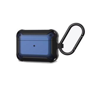 Купить Противоударный чехол для Airpods Pro Wiwu APC004 (Black+Blue)