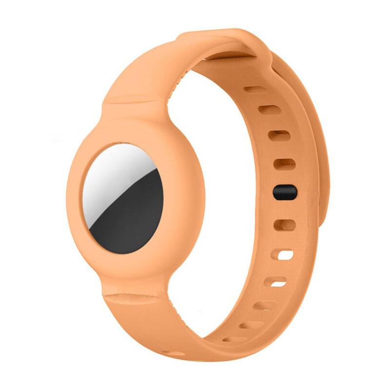 Чехол-браслет iLoungeMax для AirTag Orange