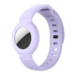 Купить Чехол-браслет iLoungeMax для AirTag Purple