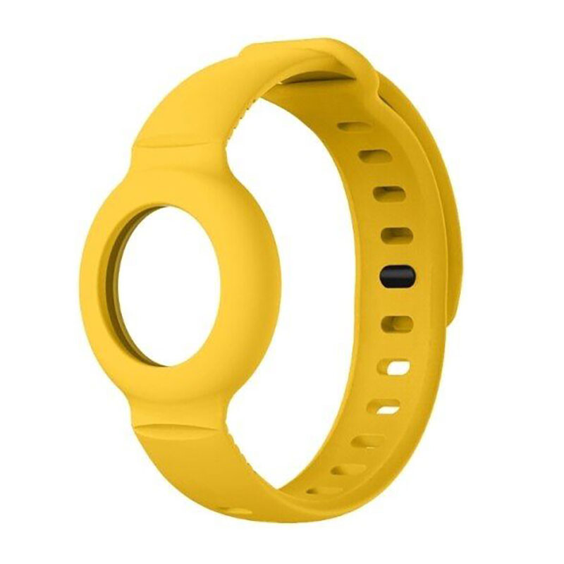 Чехол-браслет iLoungeMax для AirTag Yellow
