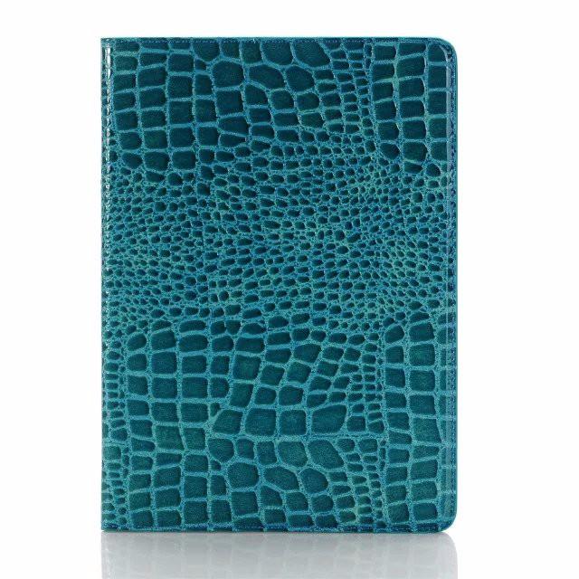 "Чехол Ajakes Crocodile Blue для iPad Pro 9.7"""
