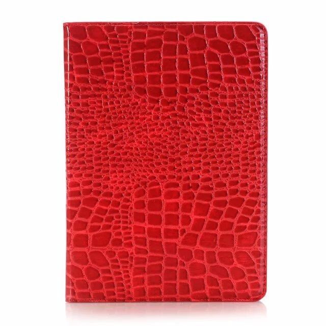 Чехол Ajakes Crocodile Red для iPad Pro 9.7""