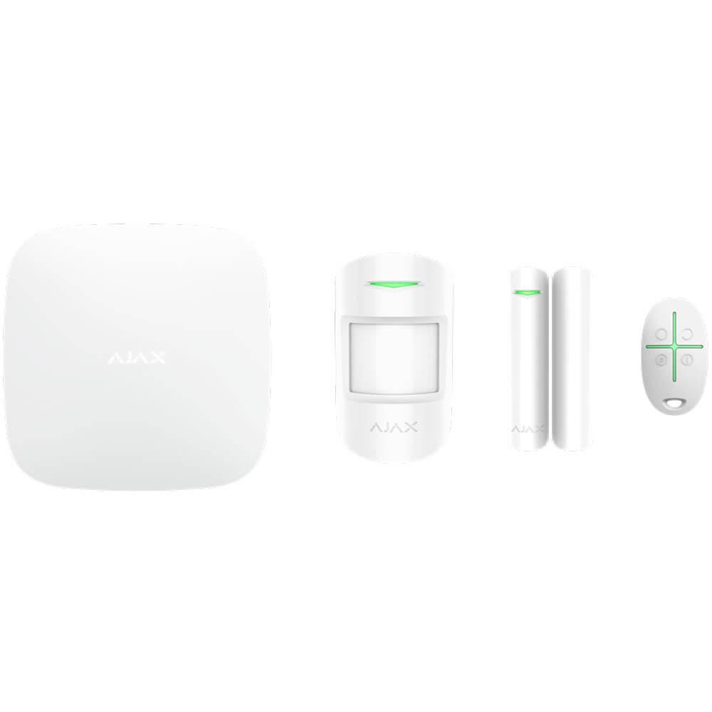 Купить Охранная система Ajax StarterKit Plus White