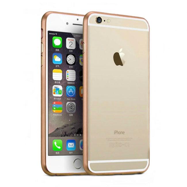 Алюминиевый бампер Alloy Rose для iPhone 6