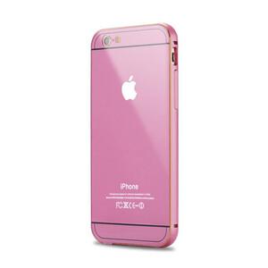 Купить Алюминиевый чехол Dual Hybrid 0.5mm Pink для iPhone 6/6s