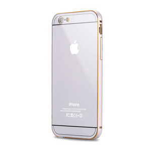 Купить Алюминиевый чехол Dual Hybrid 0.5mm Silver для iPhone 6/6s Plus