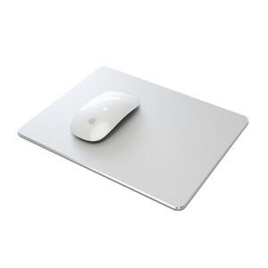 Купить Алюминиевый коврик для мыши Mouse Pad Silver