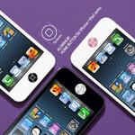 Алюминиевая накладка на кнопку Home для iPhone/iPad