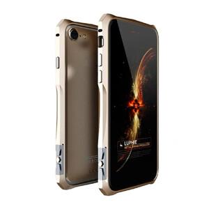 Купить Алюминиевый бампер Luphie Aviation Champagne Gold для iPhone 7 Plus/8 Plus