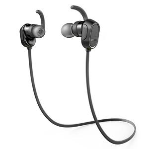 Купить Наушники Anker SoundBuds Sport Black