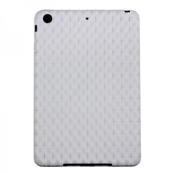 "Белый гелевый чехол ""Grid"" для iPad mini"